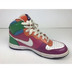 NEON MULTI COLOR NIKE IN THE SWOOSH SIZE 10 101627777